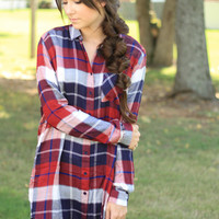 Forget Me Not Flannel