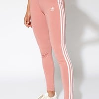 adidas Pink 3-Stripes Leggings at PacSun.com - pink | PacSun