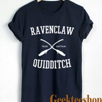 Harry Potter Shirt Ravenclaw Quidditch Logo Unisex T Shirt Tee Size Hp-3