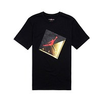 Air Jordan Men's Jumpman Slash Logo T-Shirt Black