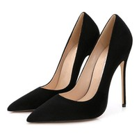 stilettos womens shoes high heels 12cm high heels purple shoes pumps women heels sexy pointed toe wedding shoes for woman b 0049