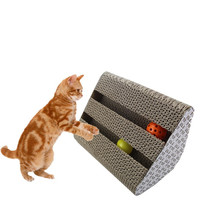 Pet Cat Toys Corrugated Paper Scratcher