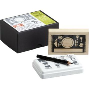 Place Card Stamp Set