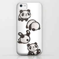 Panda iPhone & iPod Case by Toru Sanogawa