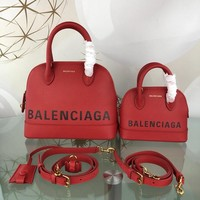 KUYOU Balenciaga Trendy graffiti shell bag 26-12-22CM Samll 18-8-15CM Red Black 6