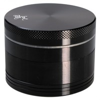 Black Leaf - Aluminum Herb Grinder in Gift Box - 4-part - 55mm - Choice of 8 colors - Herb Grinders | Grasscity