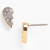 Juicy Couture 'Signatures' Pave Friendship Stud Earrings