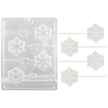 Snowflake Lollipop Chocolate Mold