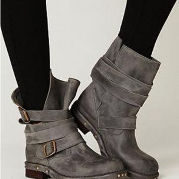 Jeffrey Campbell  Brit Boot at Free People Clothing Boutique