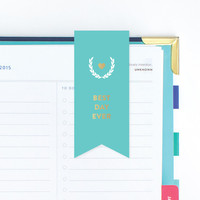 Emily Ley Magnetic Page Markers - Turquoise