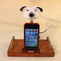 The Web Cam Dock - iPhone Dock - iPod Dock - Charger and Sync Station - Cute Cam with Mic - iPhone4 Docking Iphone Dock