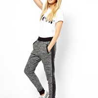 ASOS Sweatpants with PU Pocket at asos.com