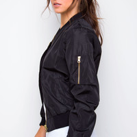 Verve Bomber Jacket - Black