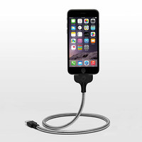The Gravity-Defying, MFI-Certified Charging Cable, Flexible Dock & Tripod