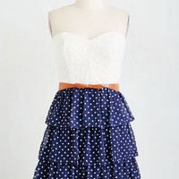 Americana Strapless A-line The Way You Sway Dress