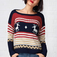 Cupshe Just For You High Low Sweater