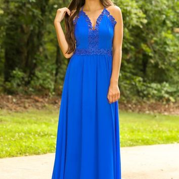 A Royal Affair Maxi Dress