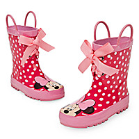 Minnie Mouse Pink Rain Boots