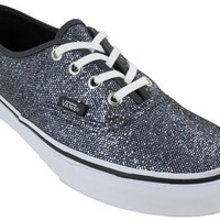 Vans Authentic Womens Size 5.5 Gray Sneakers Textile Athletic Sneakers Shoes
