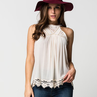 TAYLOR & SAGE High Neck Womens Top