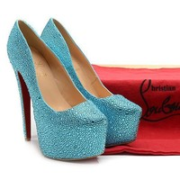 CL Christian Louboutin Fashion Heels Shoes-80