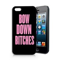 """""""Bow Down Bitches"""" Plastic Phone Case for iphone 5 5s _ SUPERTRAMPshop"""