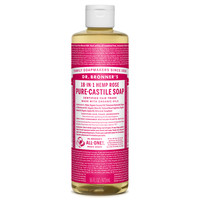 Rose Pure-Castile Liquid Soap - 16 oz.