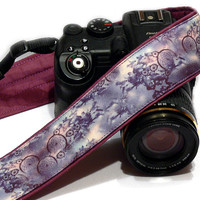 Dream Catchera Camera Strap. Purple Camera Strap. Photogear. Camera Accessories. SLR, DSLR Camera Strap. Gift For Photographer.