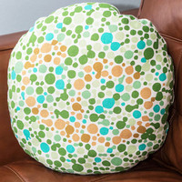 ModCloth Nifty Nerd Artistic Vision Pillow