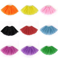 Baby Girls Kid Infant Tutu Dancewear Skirt Ballet Lace Dress Clothes Costume