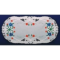 Lace Edelweiss Placemat Applique