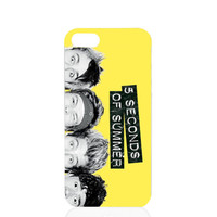 5 SOS Phone 5 5S Case Five Seconds of Summer Cute iPhone Cover iPhone