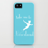 Peter Pan iPhone & iPod Case by gabsnisen