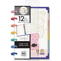 Mini Horizontal Happy Planner - Bookish - 12 Months - Horizontal