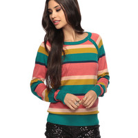 Mixed Stripe Sweater | FOREVER21 - 2002928972