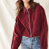 Urban Renewal Recycled O-Ring Corduroy Shirt | Urban Outfitters