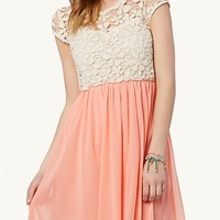 Ombre High Low Tulip Dress