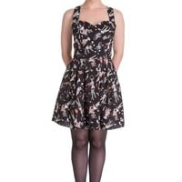 Hell Bunny Ice Scream Zombie Diner Mini Dress