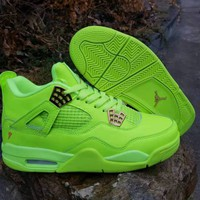 Air Jordan Retro 4 Gatorade Lemon Lime - Best Deal Online