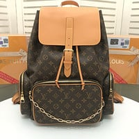 LV Louis Vuitton MEN'S MONOGRAM CANVAS BOSPHORE BACKPACK BAG