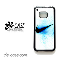 Nike Logo Blue Fire For HTC One M9 Case Phone Case Gift Present