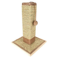 """19"""" Sisal Cat Scratching Post and Ball with Base"""