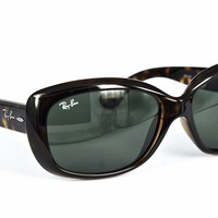 Ray Ban Sonnenbrille / Sunglasses RB4101 Jackie Ohh 710 58[]17 135 3N + Etui
