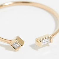 14k Paris Diamond Ring