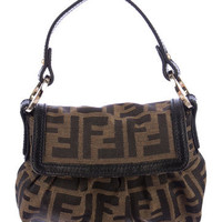 Fendi Zuccha Handle Bag