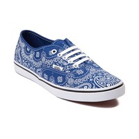 Vans Authentic Lo Pro Bandana Skate Shoe