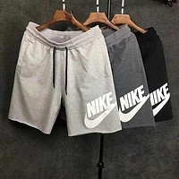 NIKE Print Side Men Sports Running Shorts-1