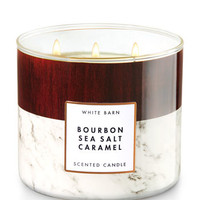 Bourbon Sea Salt Caramel 3-Wick Candle | Bath And Body Works