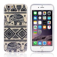 Bessky Hot Sell 4.7inch Soft TPU Case Cover For iPhone 6 6G (Blue Elephant)