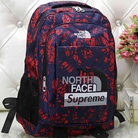 The North Face Women Men Fashion Pattern Backpack Bag